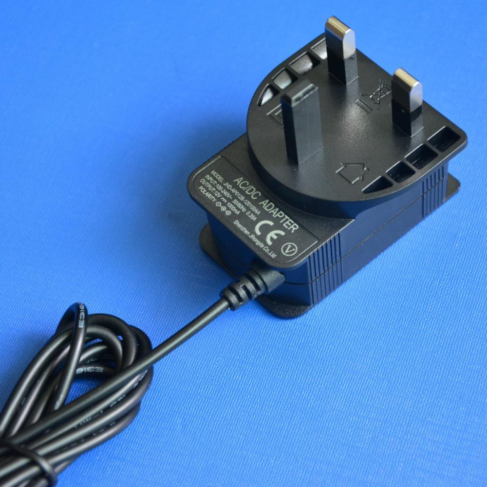 12V1a (1000mA) UK Plug Switching Power Supply (Power Adapter)