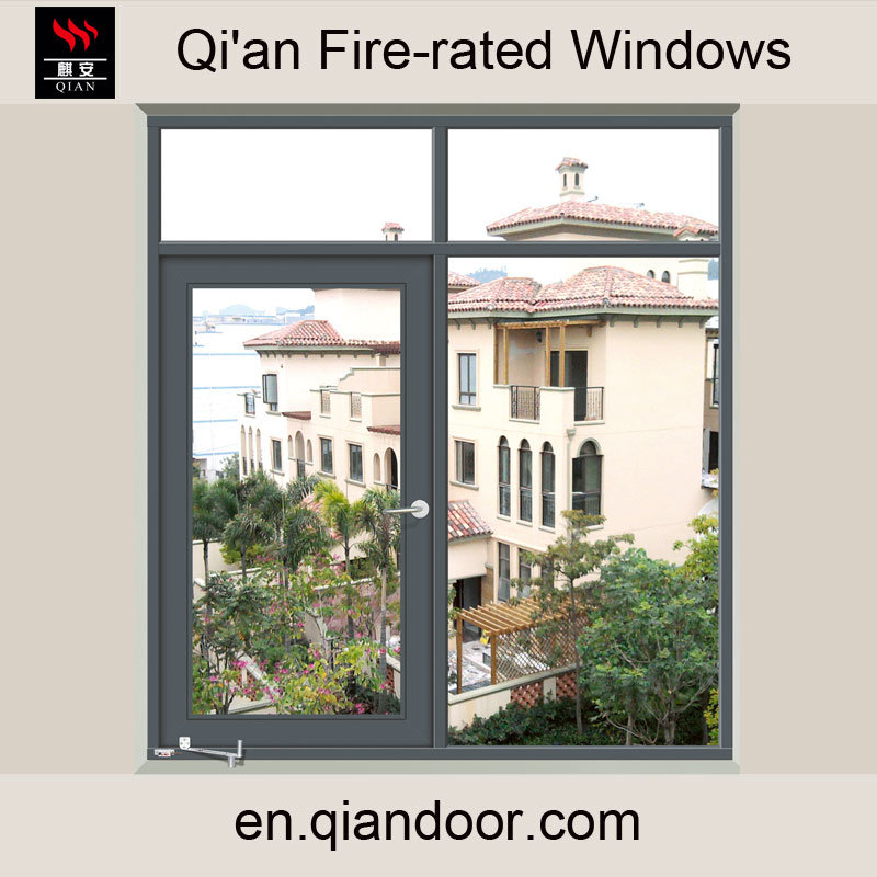 Four-Pane Steel Fire-Rated Casement Window