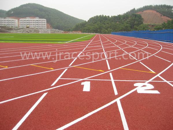 Saft Cushion EPDM SBR Surface Track