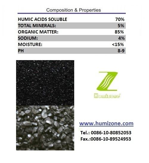Humizone Water Soluble Fertilizer: Sodium Humate Granular