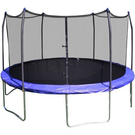 12FT Outdoor Round Sport Play Trampoline with Safety Enclosure