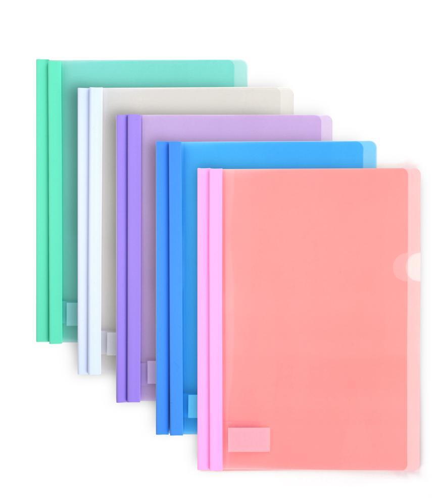 Oasis Assorted Color Sliding Folder/ File Folder