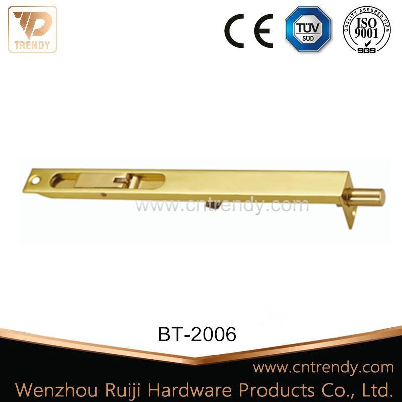 Lever Action Brass Concealed Bolt Flush Bolt for Door&Furniture