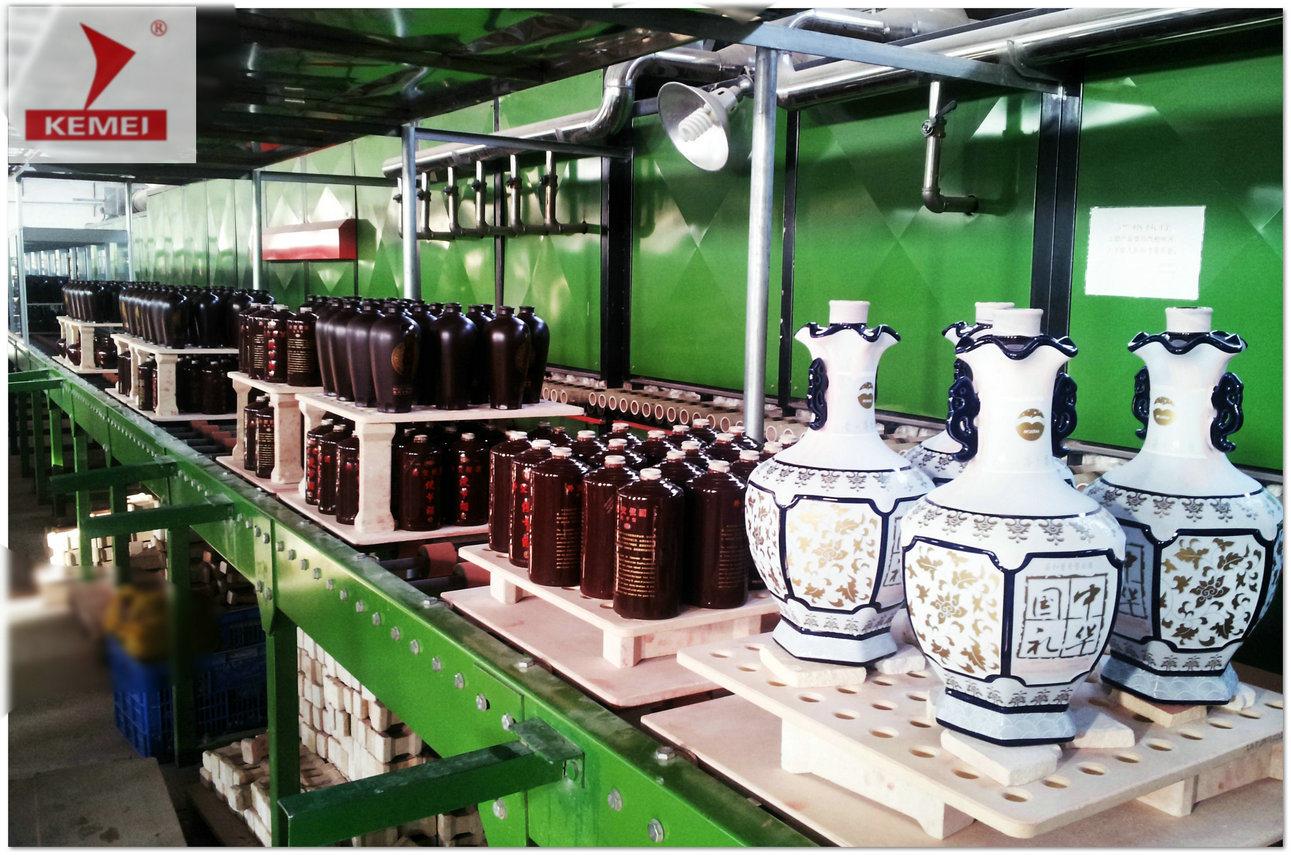 Roller Kiln for Porcelain/Bone China Wine Bottle