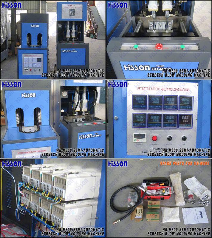 Semi Auto Pet Bottle Blow Molding Machine hb-M800
