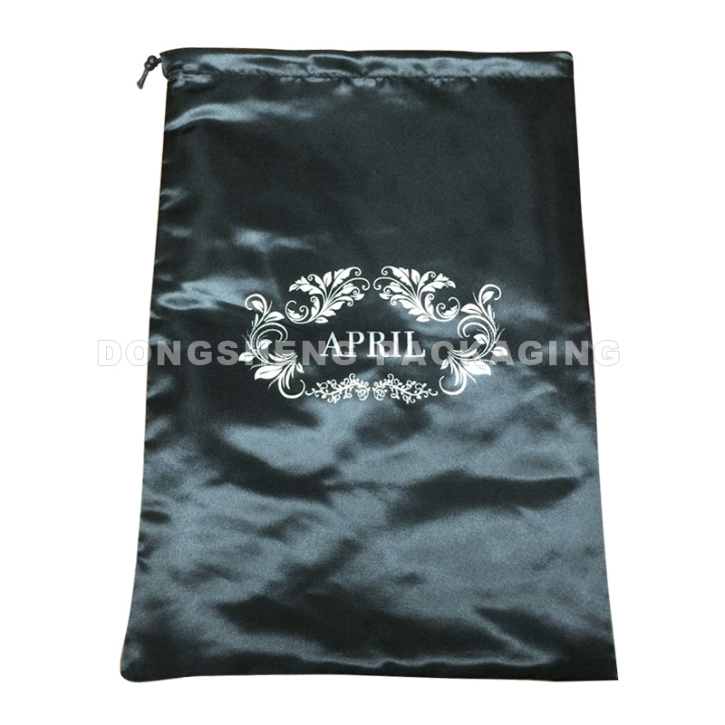 Branded Silky Satin/Polyester Fabric Gift Bag for Garments/Sunglasses