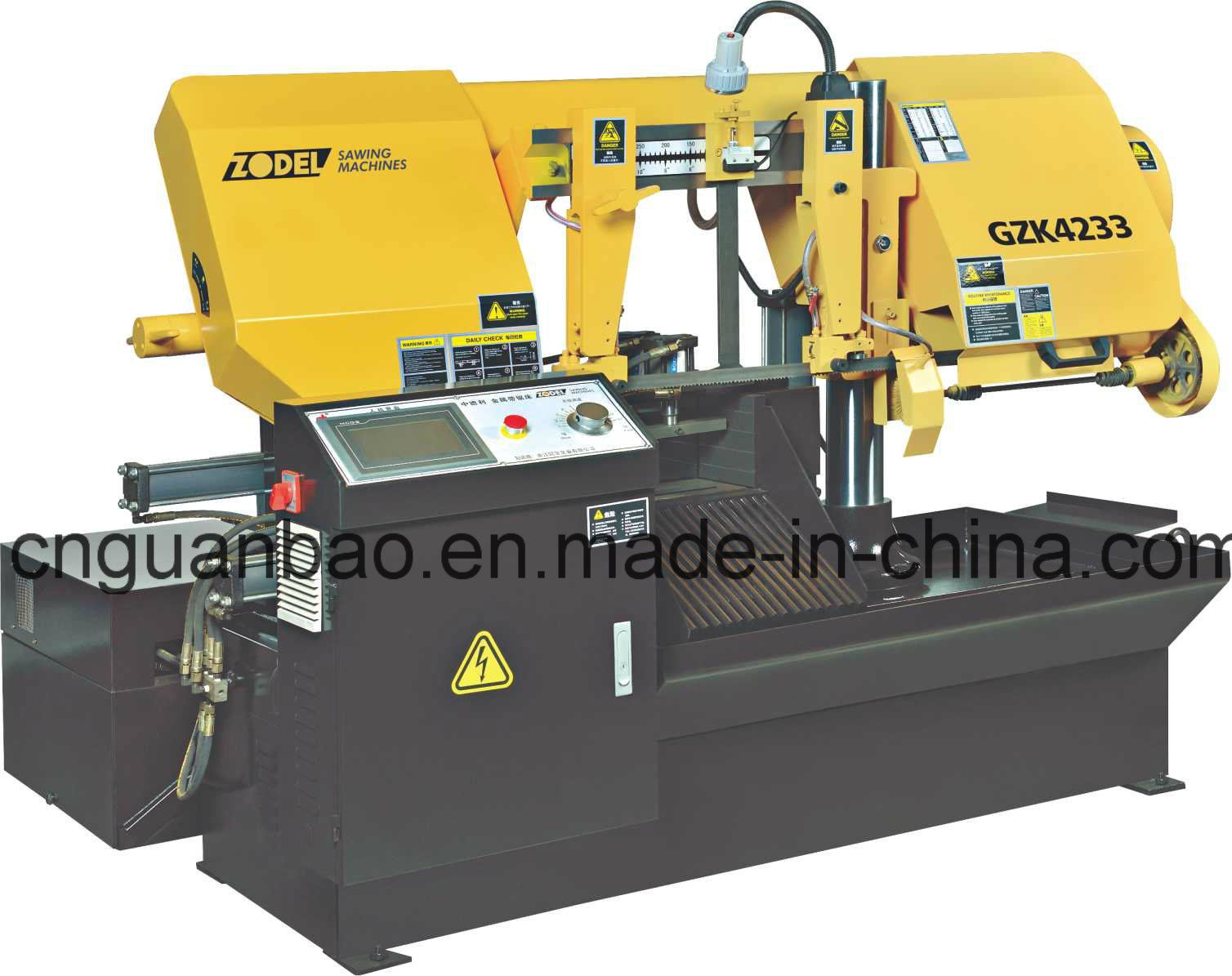 CNC Band Saw Machine Gzk4233 with ISO CE Certificate