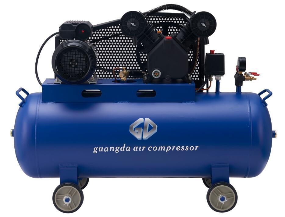 Belt Driven 100L 3HP 2.2kw Air Compressor (V-0.25/8)