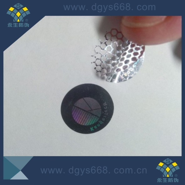 Custom Security Hologram Honeycomb Tamper Evident Seal