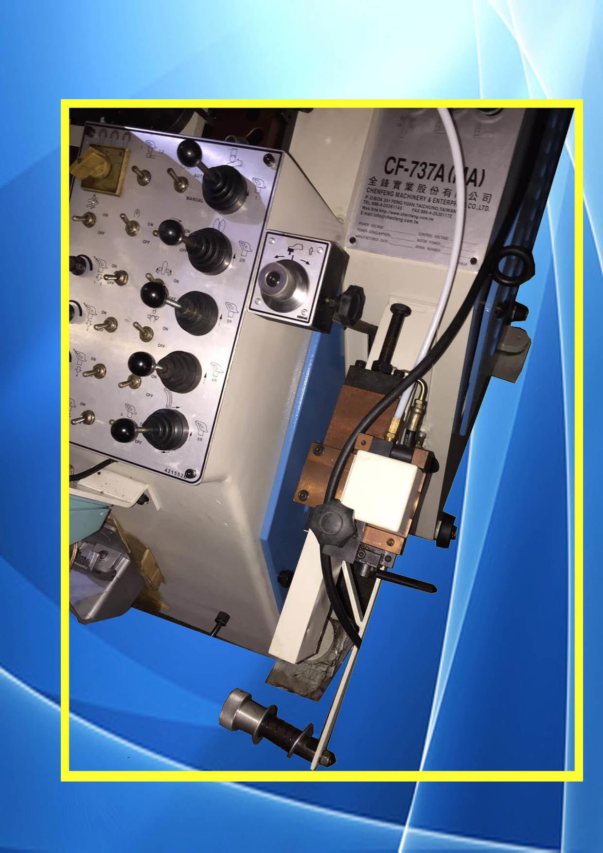 Reconditioned Oil Hydraulic Automatic Toe Lasting Shoe Making Machine (CF-737mA)