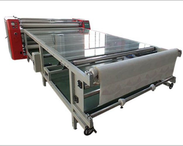 CE Certificated Roller Heat Transfer Machine for Sublimation Paper
