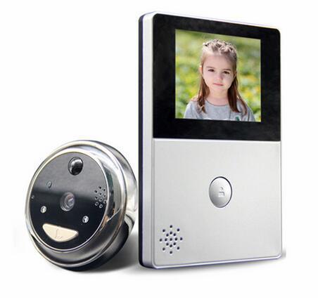 Battery Mini Video Door Phone Smart Ring HD WiFi Video Doorbell