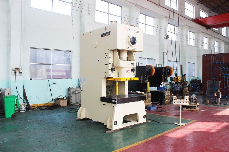 Jh21 C-Frame Pneumatic Clutch Mechanical Press Machine