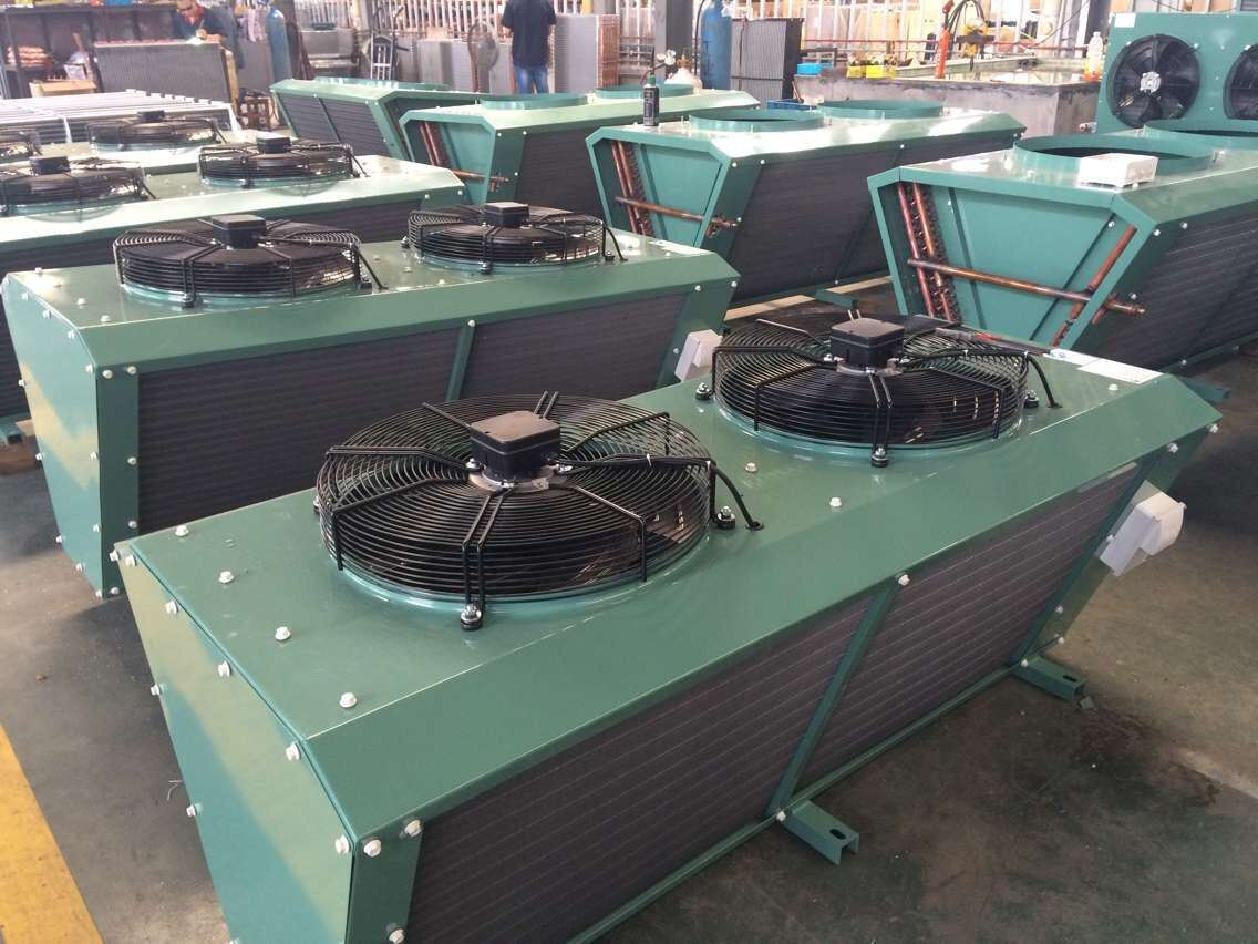 China Hot Sale V Type Air Cooled Condenser for Refrigeration Unit
