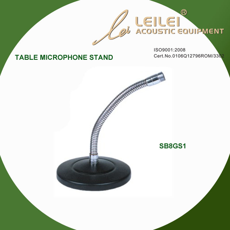 Ajustable Table Microphone Stand (SB8GS1)