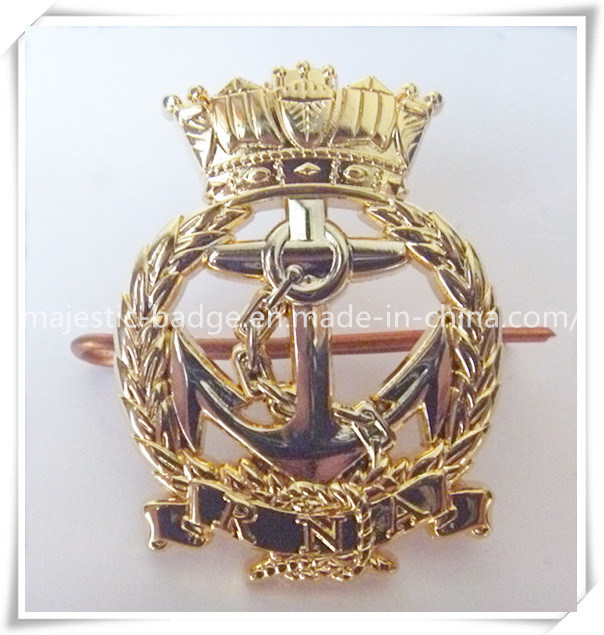 Gold Plating Badge