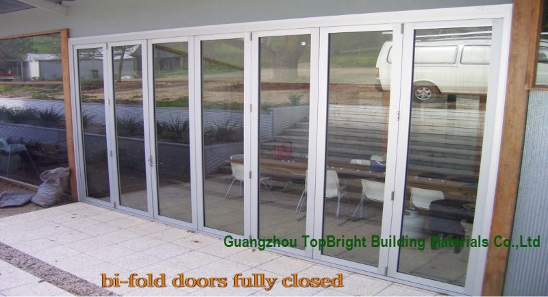 Aluminum Folding Bifold Door for House