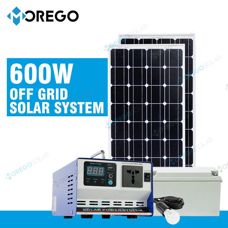 Morego off Grid 600W Portable PV System / Solar Panel Generator