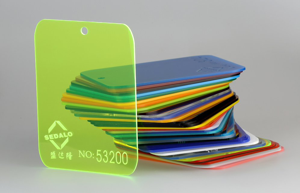 100% Virgin Color Cast Acrylic Sheet