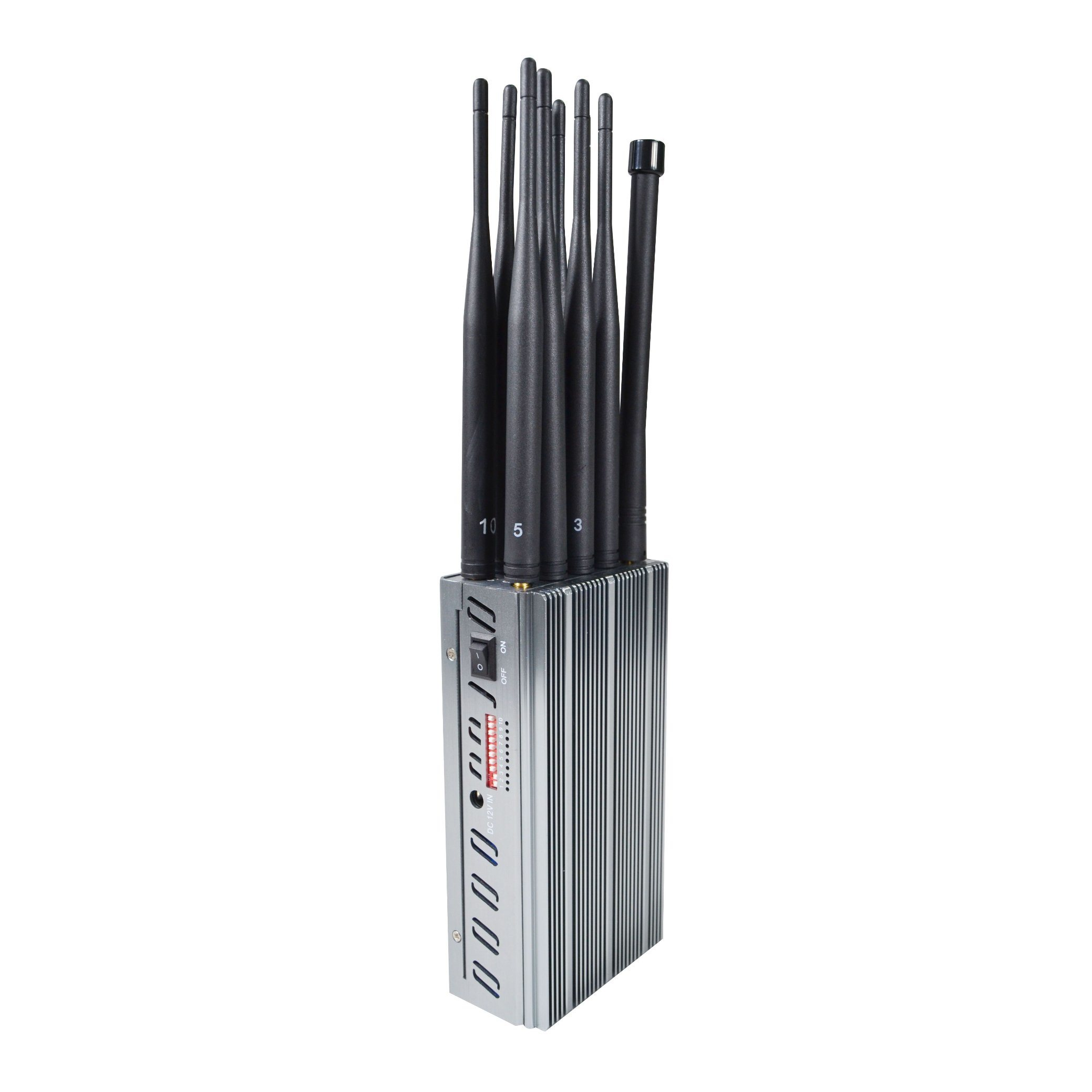 wireless phone jammer network - China Update Version of Portable Jammers with 8000mA Battery and 10 Antennas Signal Blockers - China 8000mA Battery Jammer, Large Volume Power Signal Blocker