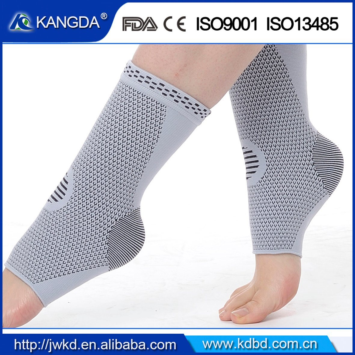 Amazon Hot Sale Kangda Ankle Sleeve Ankle Brace Ankle Support