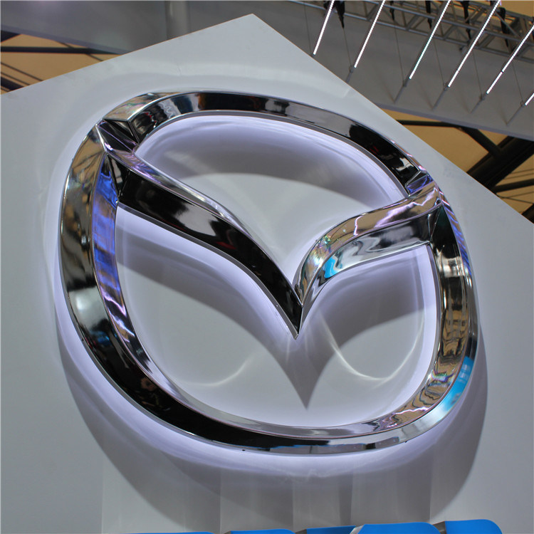 Customized 3D Outdoor Advertising LED Acrylic Car Sign