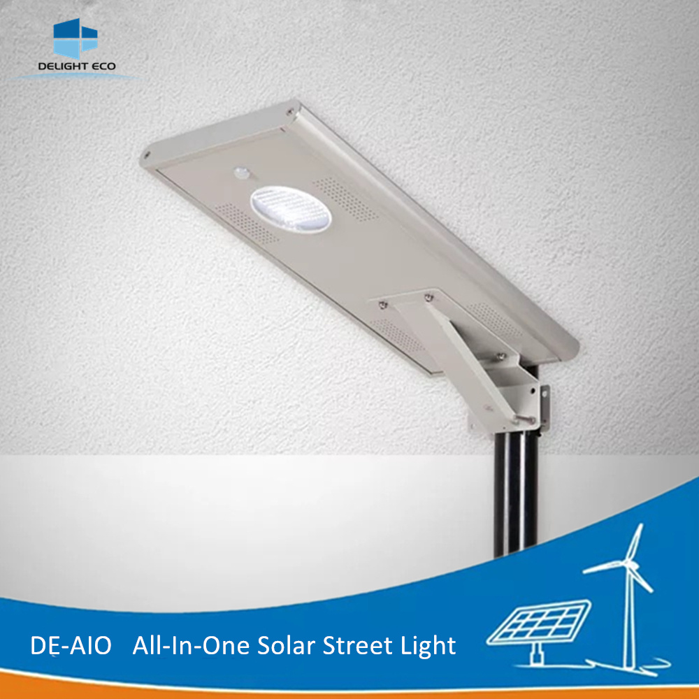 Delight De-Aio Integrated All in One Solar LED Street Light
