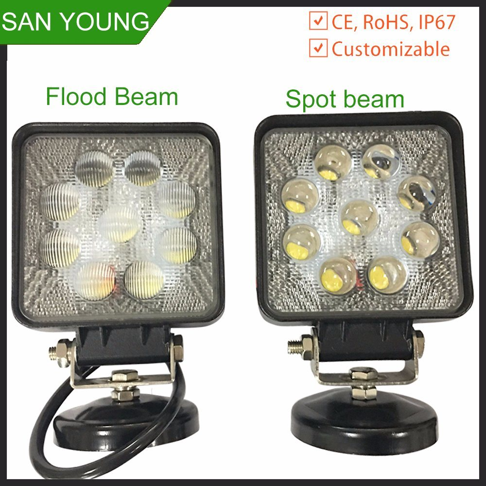 Waterproof High Lumen LED Work Lamp CREE LED Work Lamp
