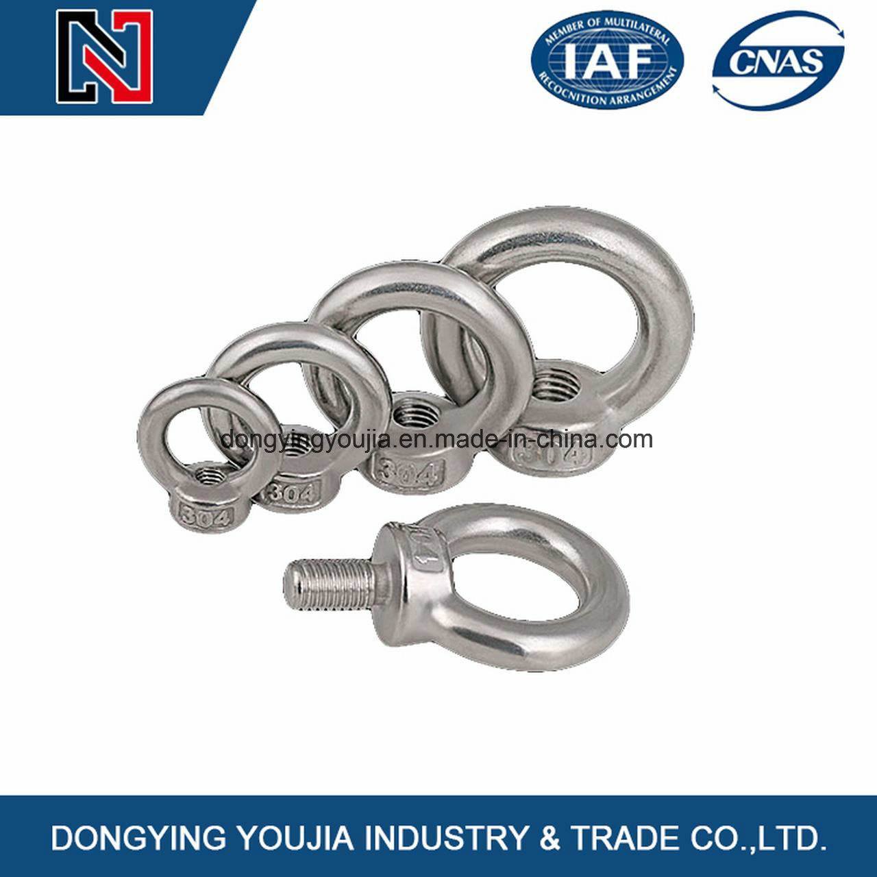 DIN582 Stainless Steel Lifting Eye Nuts