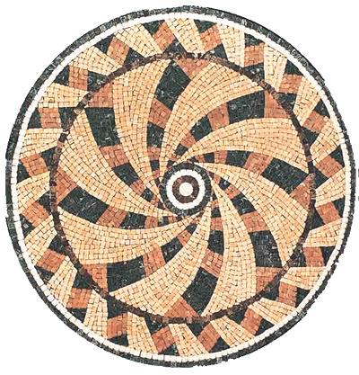 Waterjet Medallion for Flooring Tile