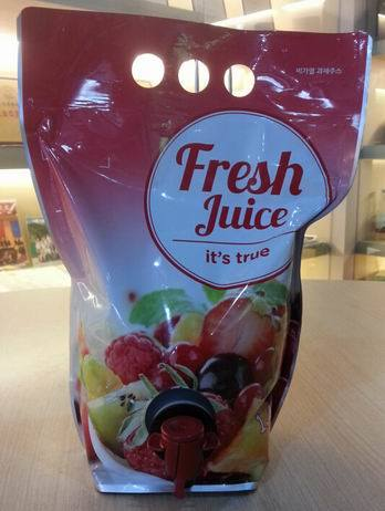 Pouch Bag for Juice