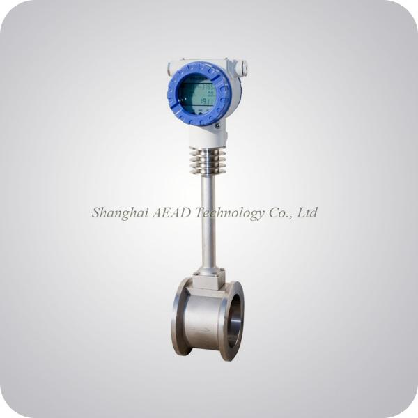 Air / Gas Flow Sensor Vortex Shedding Flowmeter