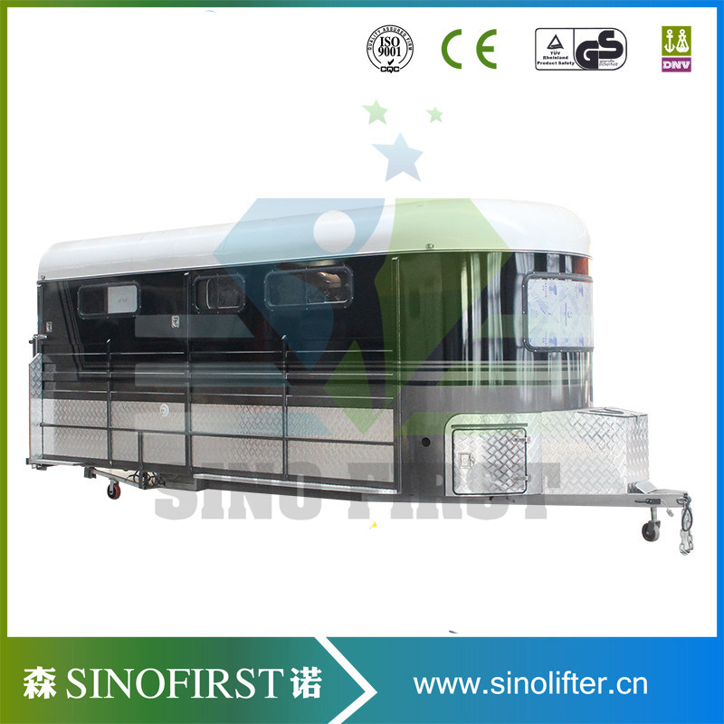 High Quality Luxury Double Horse Trailer 2 and 3 Horse Trailer