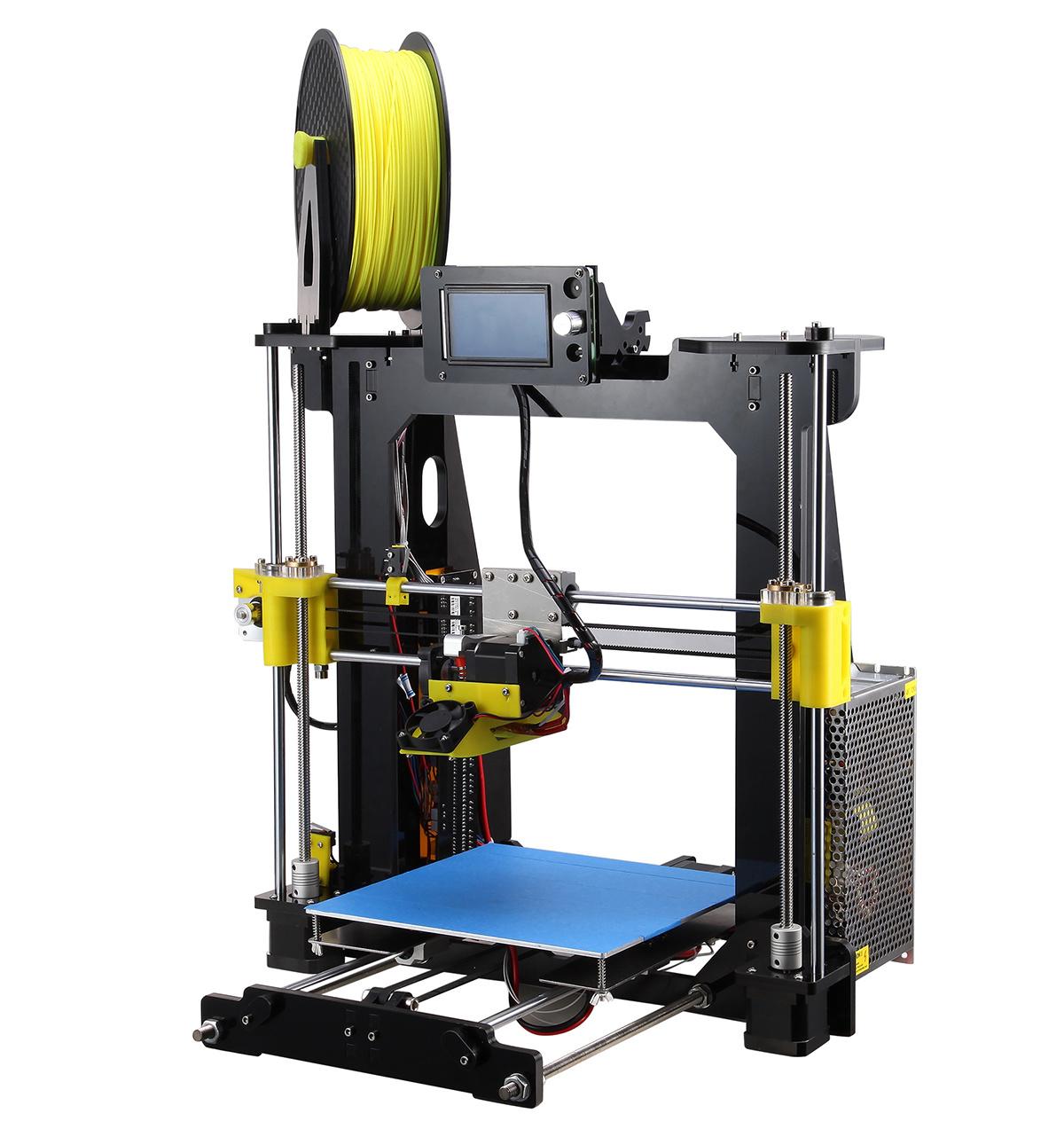 Hot Sale Durable Acrylic Rapid Prototype DIY Desktop 3D Printer
