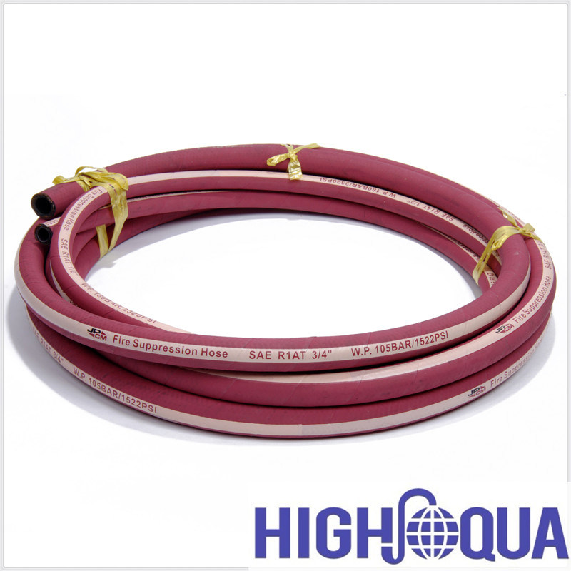 SAE R17 Wire Braid Reinforcement Hydraulic Hose
