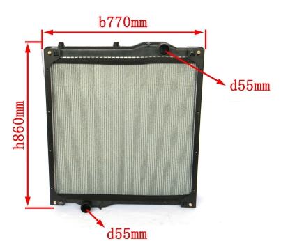 High Quality HOWO Auto Parts Radiator
