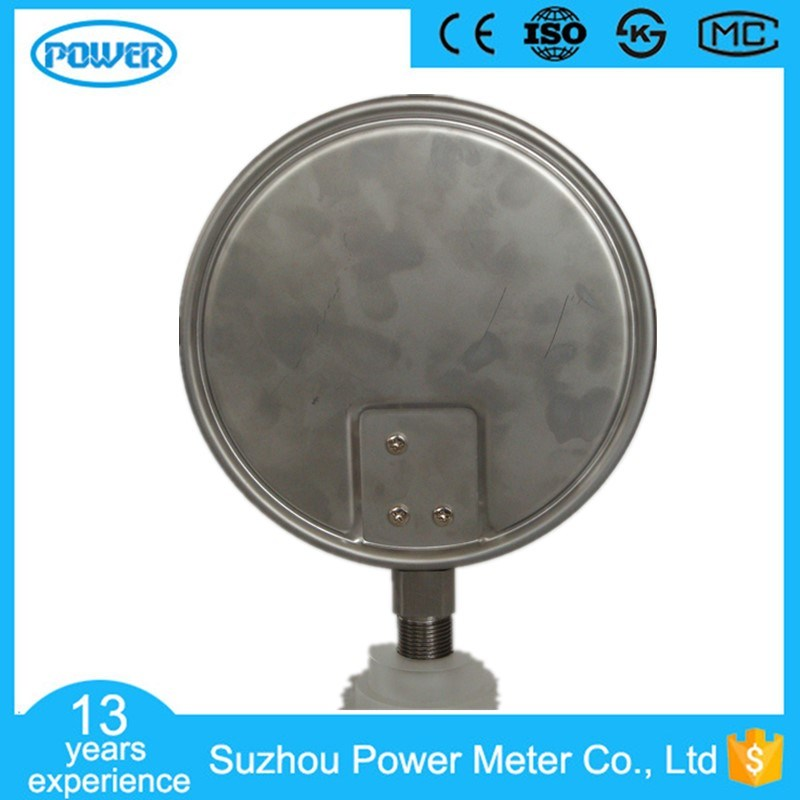 150mm High Quality Full Stainless Steel Vacuum Bellows Pressure Gauge