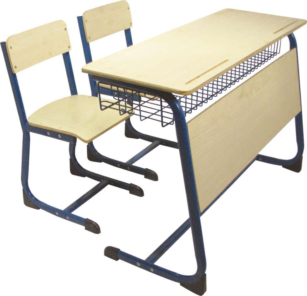 China Double Desk And Chair S 209 China School Furniture School Desk