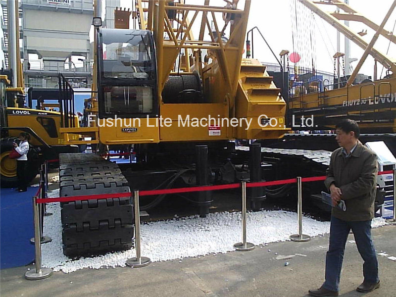 80 Tons Crawler Chassis for Crane