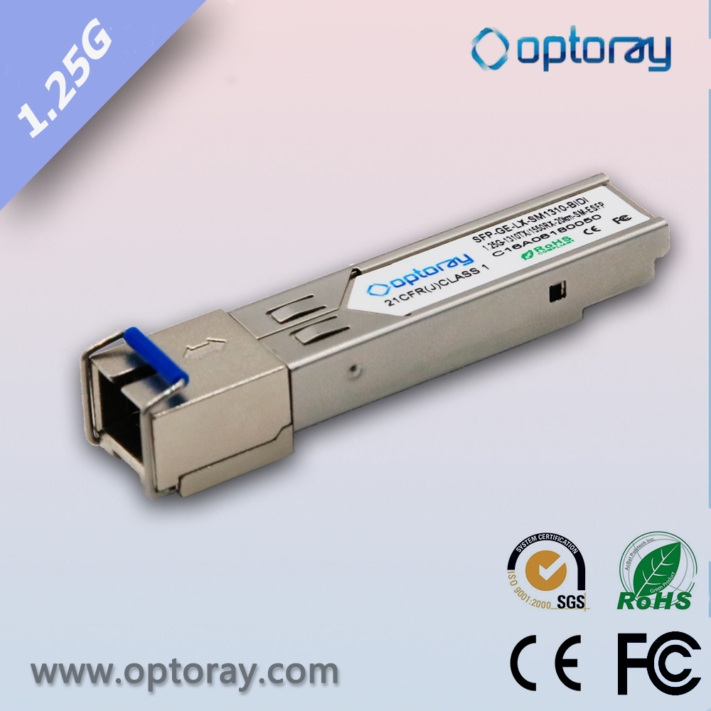 SFP Bidi 1.25g Series 20km 40km 80km with High Quality