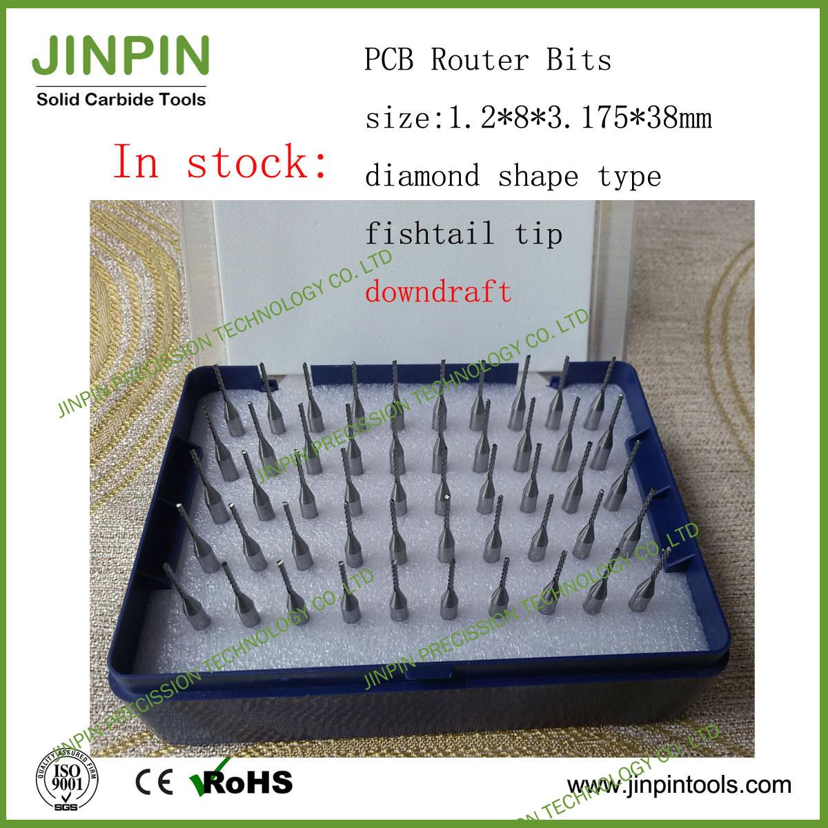 1.2mm Small Carbide Burr Stock for Fiberglass