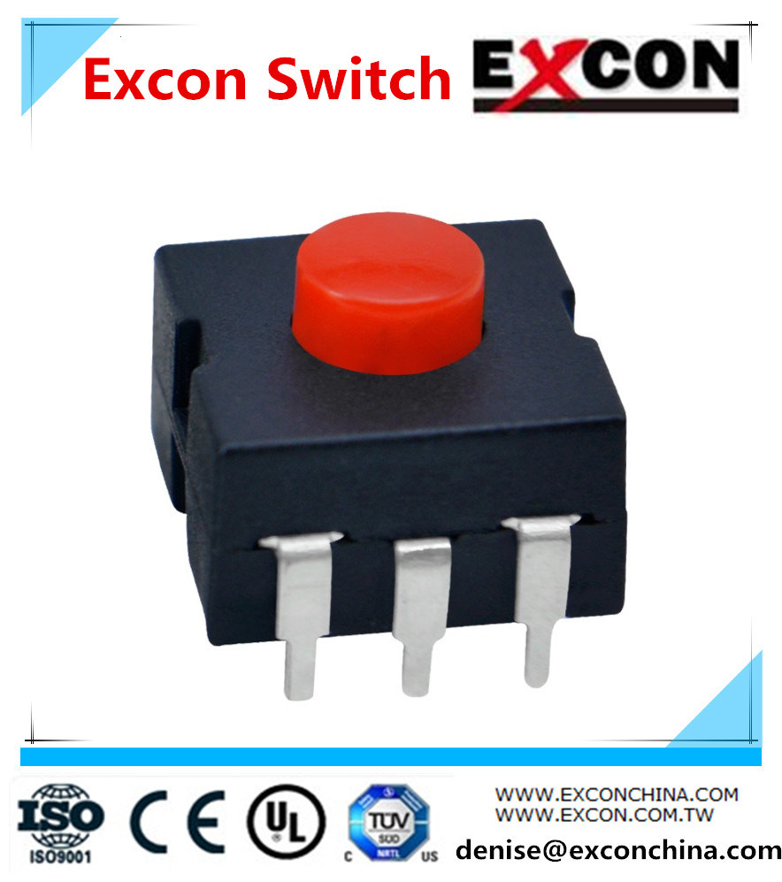 3pins Flash Light Tact Switches/ China Factory with Various Type Switches
