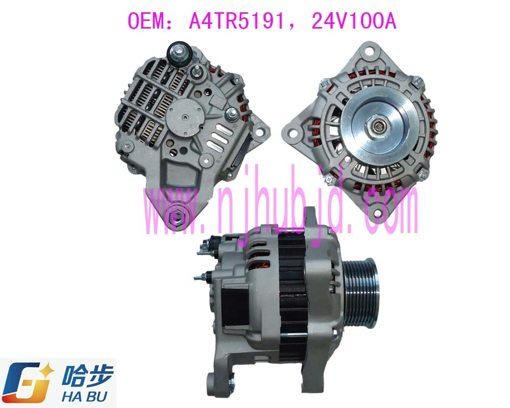 AC Car/Auto/Automobile Alternator for Scania Truck A4tr5191 24V 100A