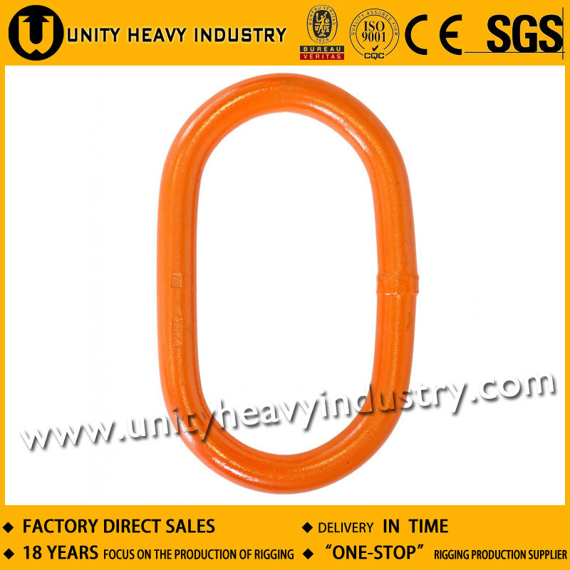 Forged Alloy Steel A343 Flat Master Chain Link