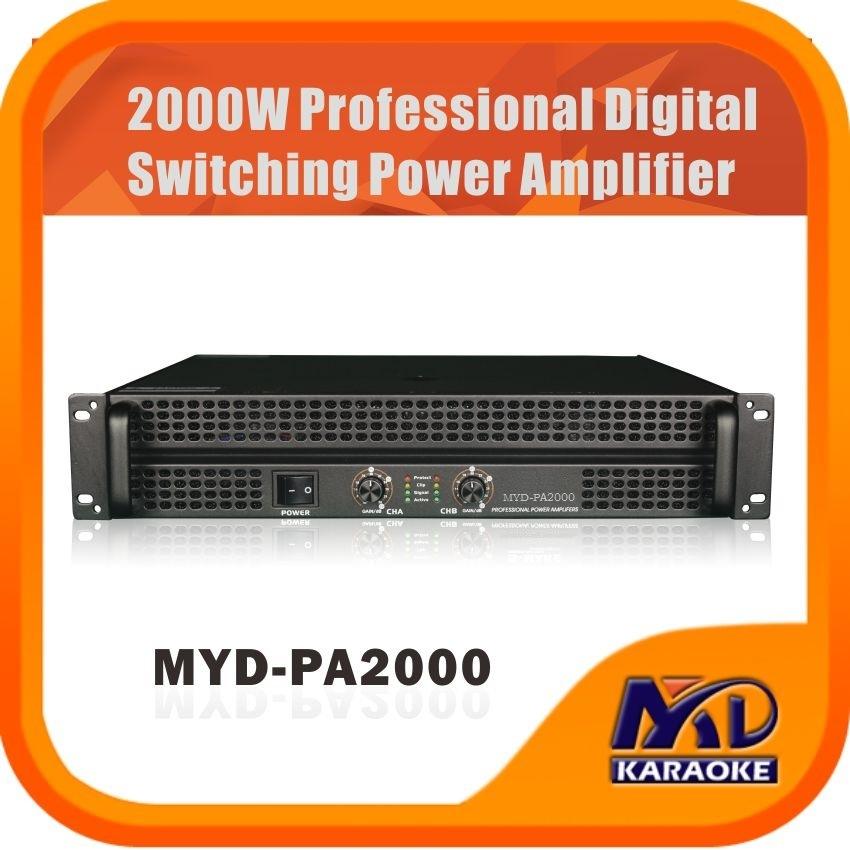 2000W Professional Digital Switching Power Amplifier