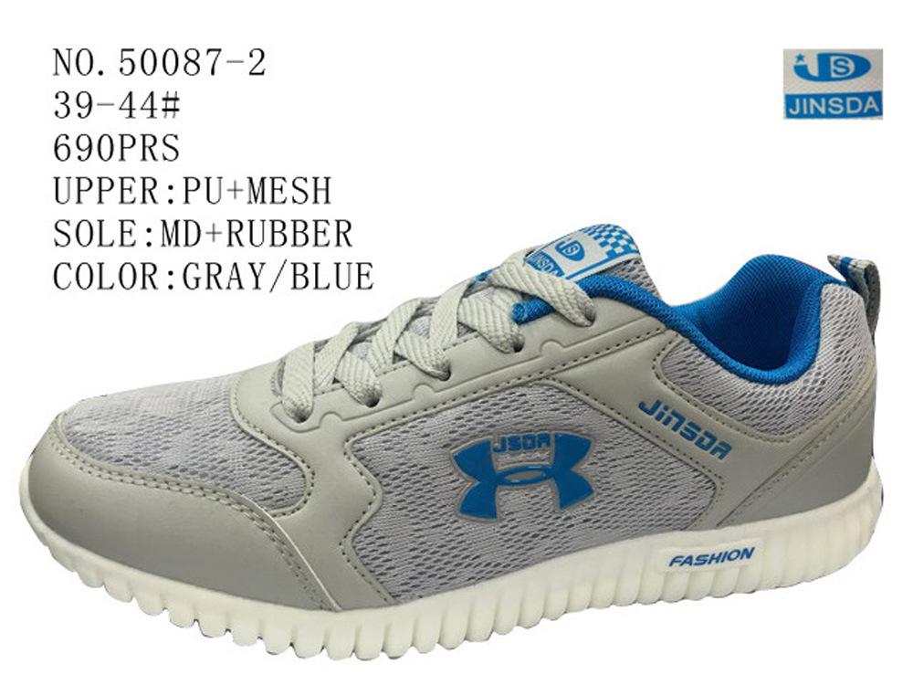 No. 50087 Mesh Upper Men′s Sport Shoes