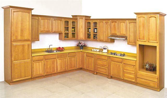 American Solid Wood Beech Ktichen Cabinet
