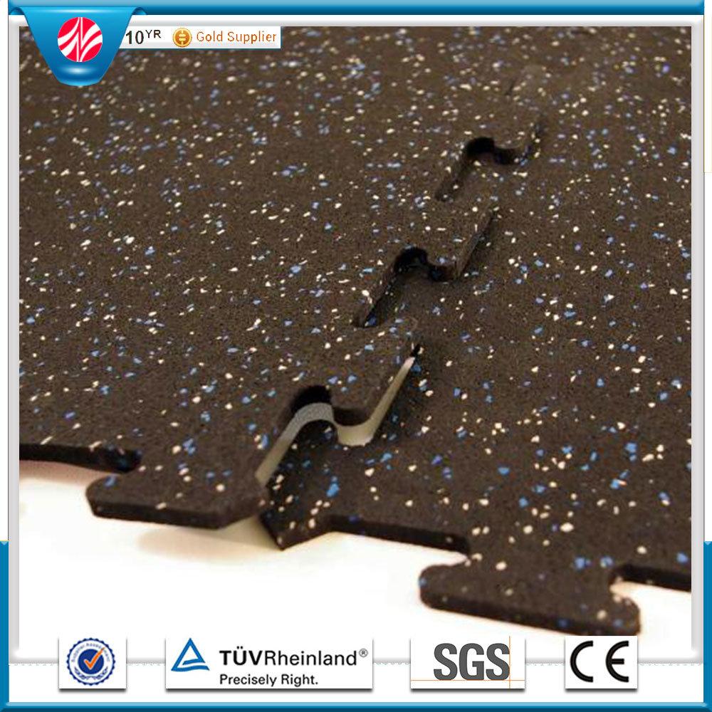 Crossfit Interlocking Rubber Flooring/Weight Room Gym Flooring