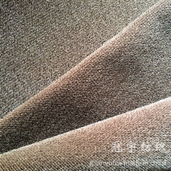 Super Soft Cationic Fabric with T/C Backing for Sofa