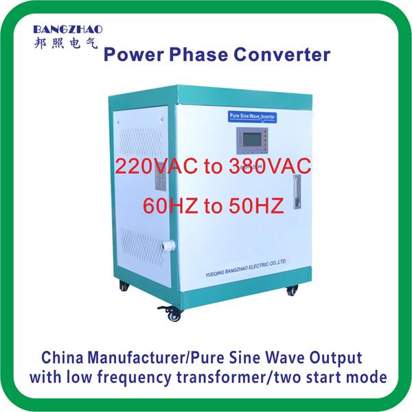 Single Phase 220VAC to Three Phase 415VAC 30000 Watt Power Inverter